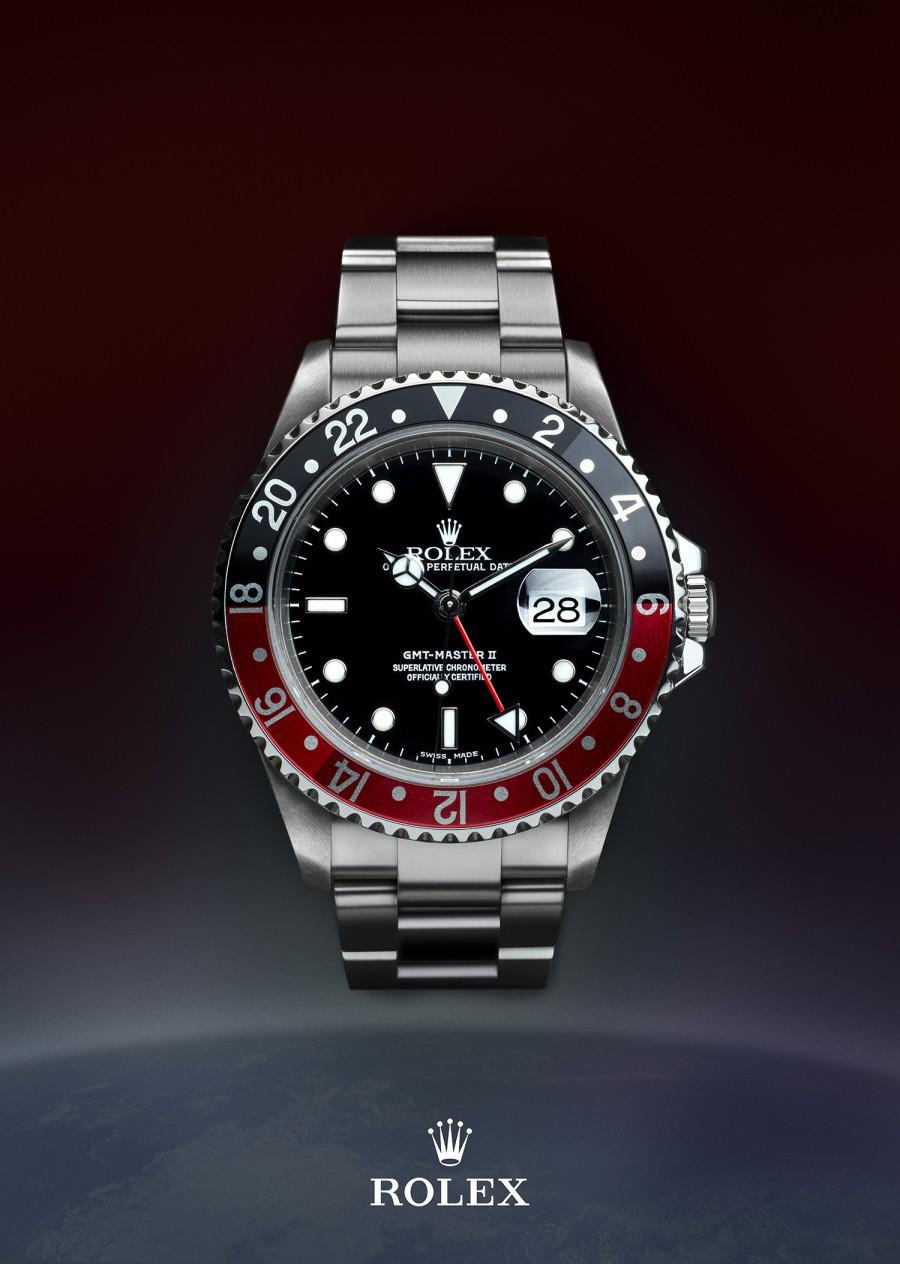 Rolex GMT Master II 16710 post production Atelier 99 photography Migjen Rama
